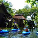 長野県・北アルプスの名水路  万水川・犀川・青木湖カヤック2DAYSツアー 開催 受付中