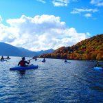 栃木県・中禅寺湖カヤックツアー 風香る穏かな湖をカヤックツーリング