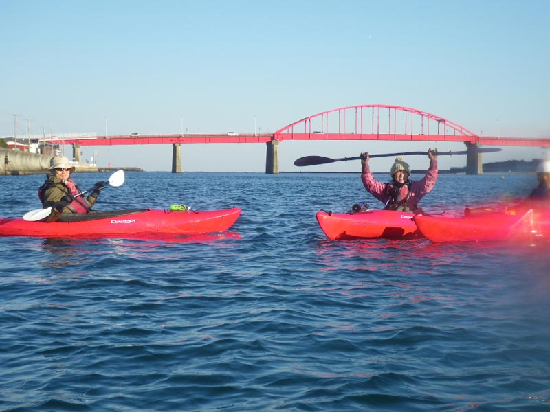 那珂川を海までカヌーツーリング