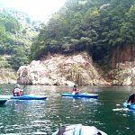 和歌山県 熊野川60kmカヤックツアー開催  世界遺産の日本の川を旅する