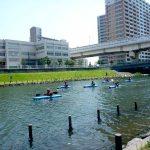 東京水路とスカイツリ-を巡るカヤックツアー