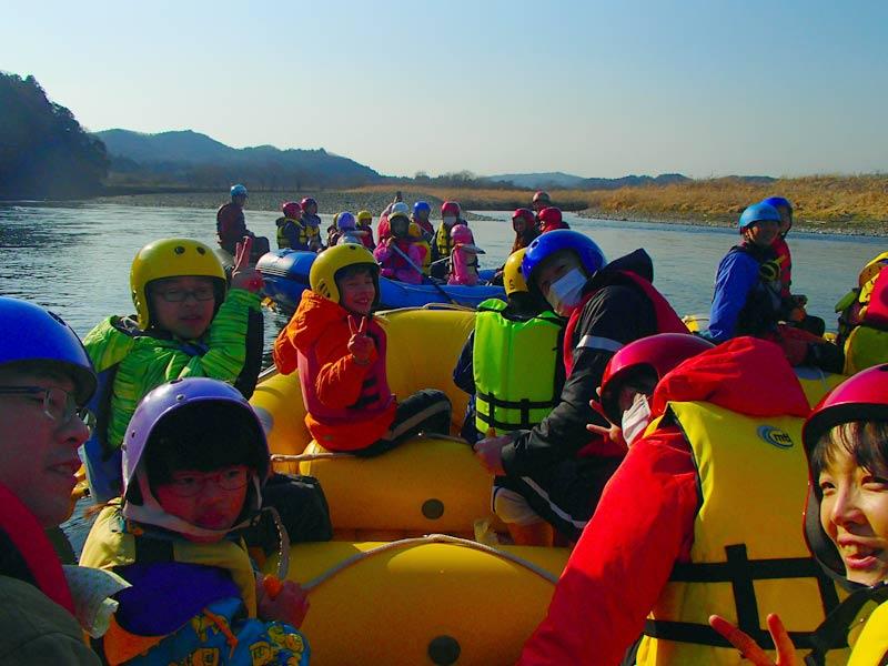 紅葉狩り・サケ遡上の那珂川ツアー